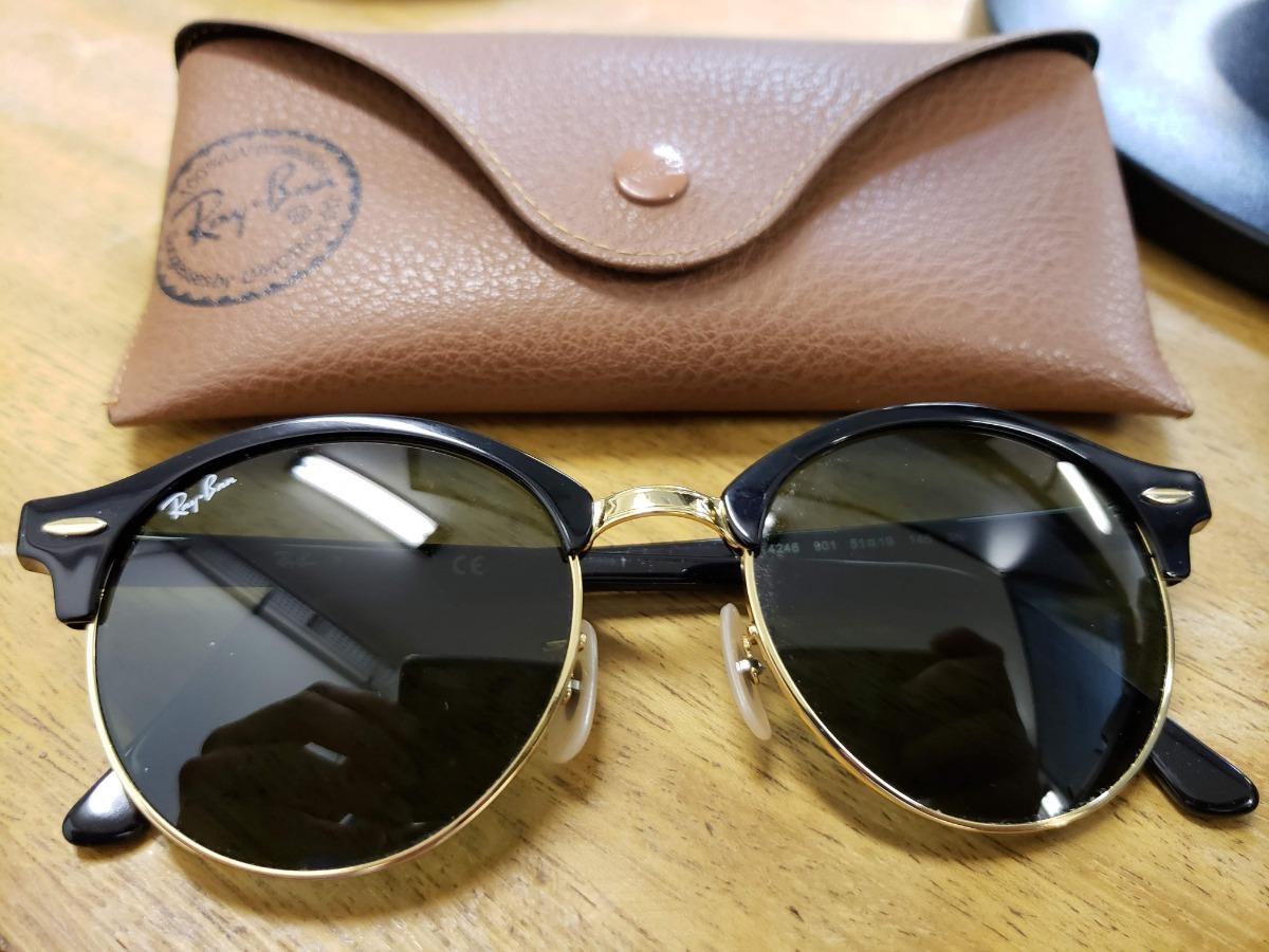 a24de73a0c850 óculos rayban clubround classic original. Carregando zoom.