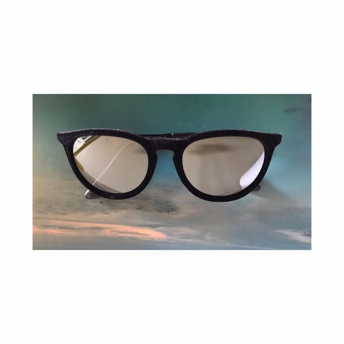 6685060680 óculos rayban érika veludo preto espelhado original. Carregando zoom.