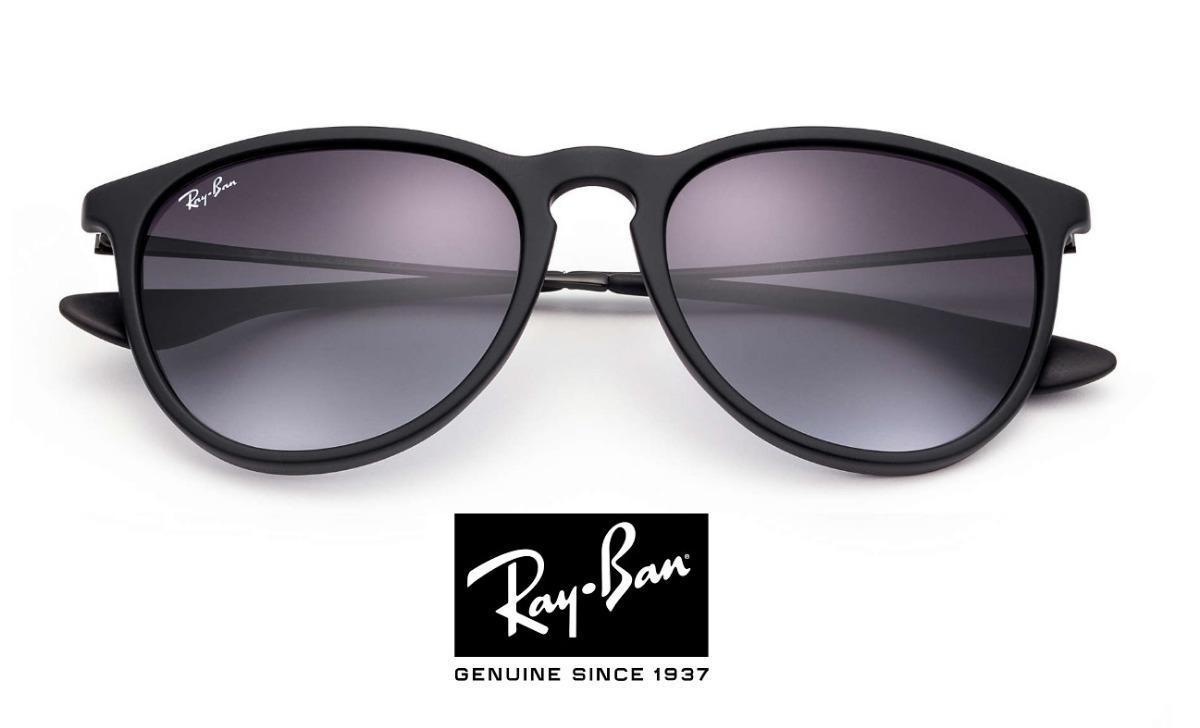 Óculos Rayban Feminino Erika Preto Gatinha Rb4171 - R  269,49 em ... 2c4b630acf