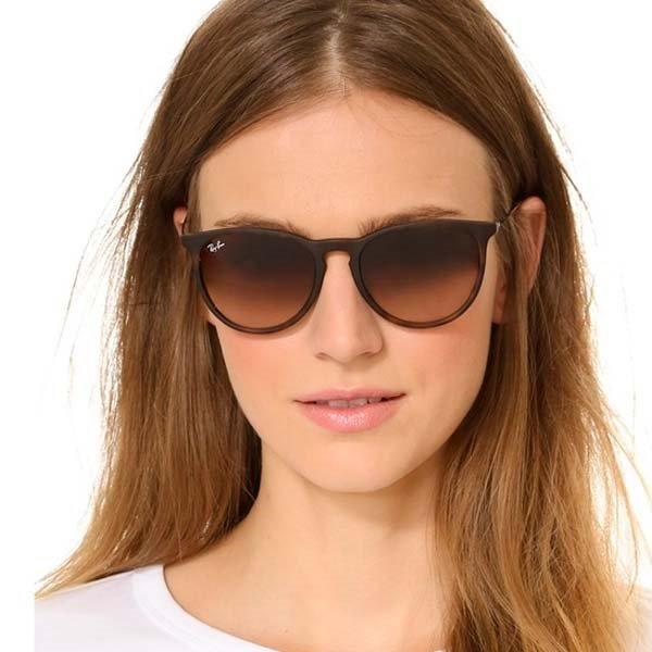 15266b80790d9 Óculos Rayban Feminino Masculino Erika Marrom Rb4171 - R  269,49 em ...