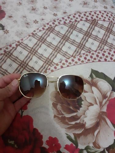 óculos rayban hexagonal