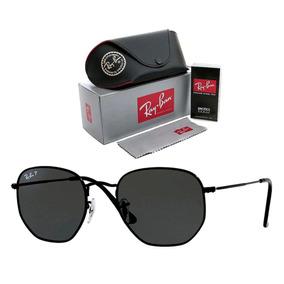 2ba8146c9 Ray Ban Hexagonal Lente Polarizada - Óculos no Mercado Livre Brasil