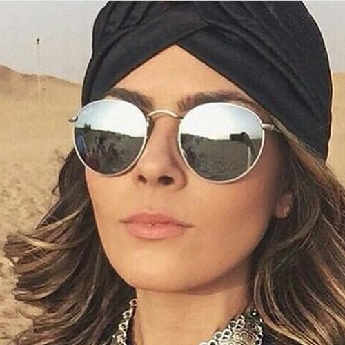 0a17d55efb51a Oculos Rayban Hound Prata Espelhado Masculino Feminino - R  69,00 em Mercado  Livre