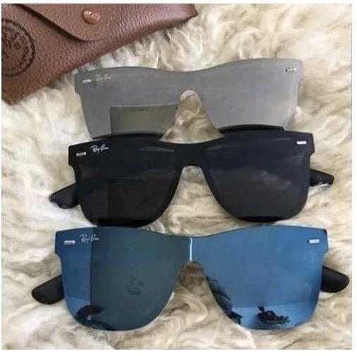 e2d71717a6d70 Oculos Rayban Justin Blaze Wayfarer Feminino Masculino - R  48,00 em ...