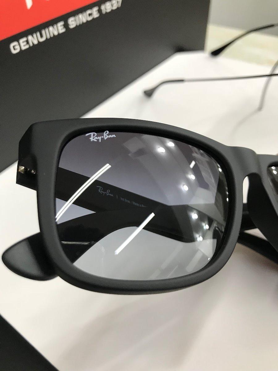 9d383c633a593 óculos rayban justin rb4165l 601 8g tamanho 55 original. Carregando zoom.