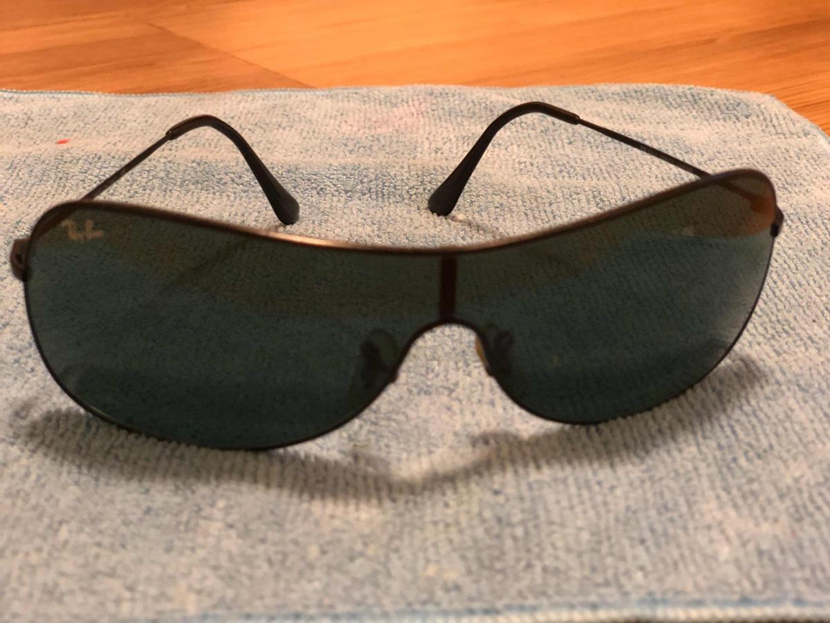 235c9383434ca óculos rayban lente única - tipo máscara modelo rb3211. Carregando zoom.