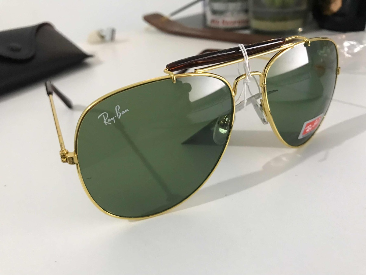 2aca960907b44 Óculos Rayban Original Aviator - R  250,00 em Mercado Livre