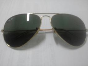 99a62e7ca Oculos Rayban Original Modelo Aviador (lentes Verdes)