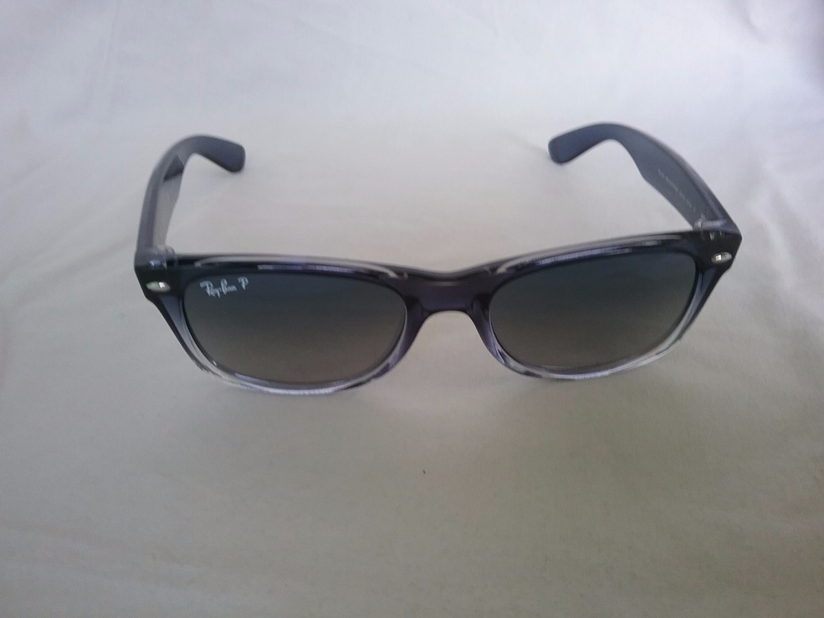 f9a673c9e6a7e óculos rayban rb2132 822 78 52mm polarizado azul cinza  b17. Carregando  zoom.
