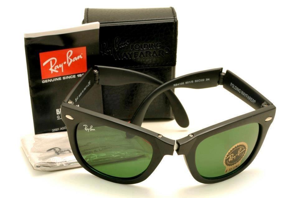 e465671e6a324 oculos rayban rb4105 -2140 wayfarer black piano dobravel. Carregando zoom.