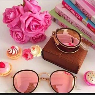 4507746827f6f Oculos Rayban Round Dobravel Azul rosa Redondo - Espelhado - R  350 ...