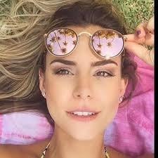 1143b84924930 Oculos Rayban Round Dobravel Azul rosa Redondo - Espelhado - R  350 ...