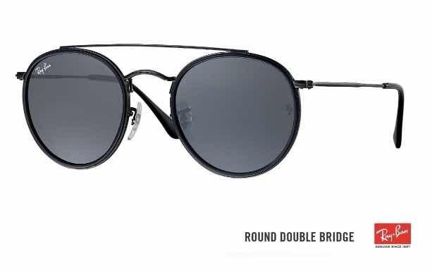 dbc4b8955 Oculos Rayban Round Preto Rb3647 Promoção 70%off - R$ 450,00 em ...