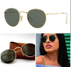 93e45ba2c Rayban 3447 Preto E Dourado - Óculos no Mercado Livre Brasil