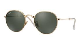 b4ca2577a Ray Ban Rb 3447 Round Metal 112/32 50mm 3n - Óculos no Mercado Livre Brasil
