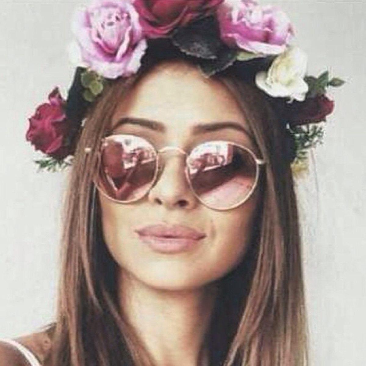 67ad67af2950b óculos rayban round rb3447 rosa espelhado redondo feminino. Carregando zoom.