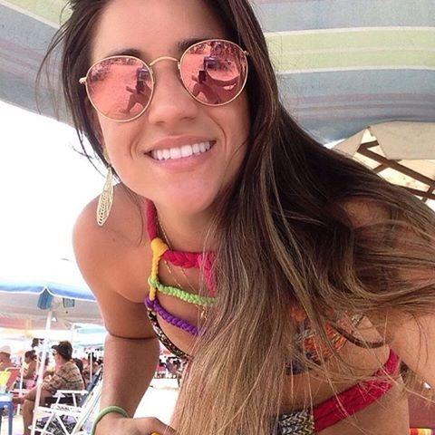817145040 Óculos Rayban Round Rb3447 Rosa Espelhado Redondo Feminino - R$ 300 ...