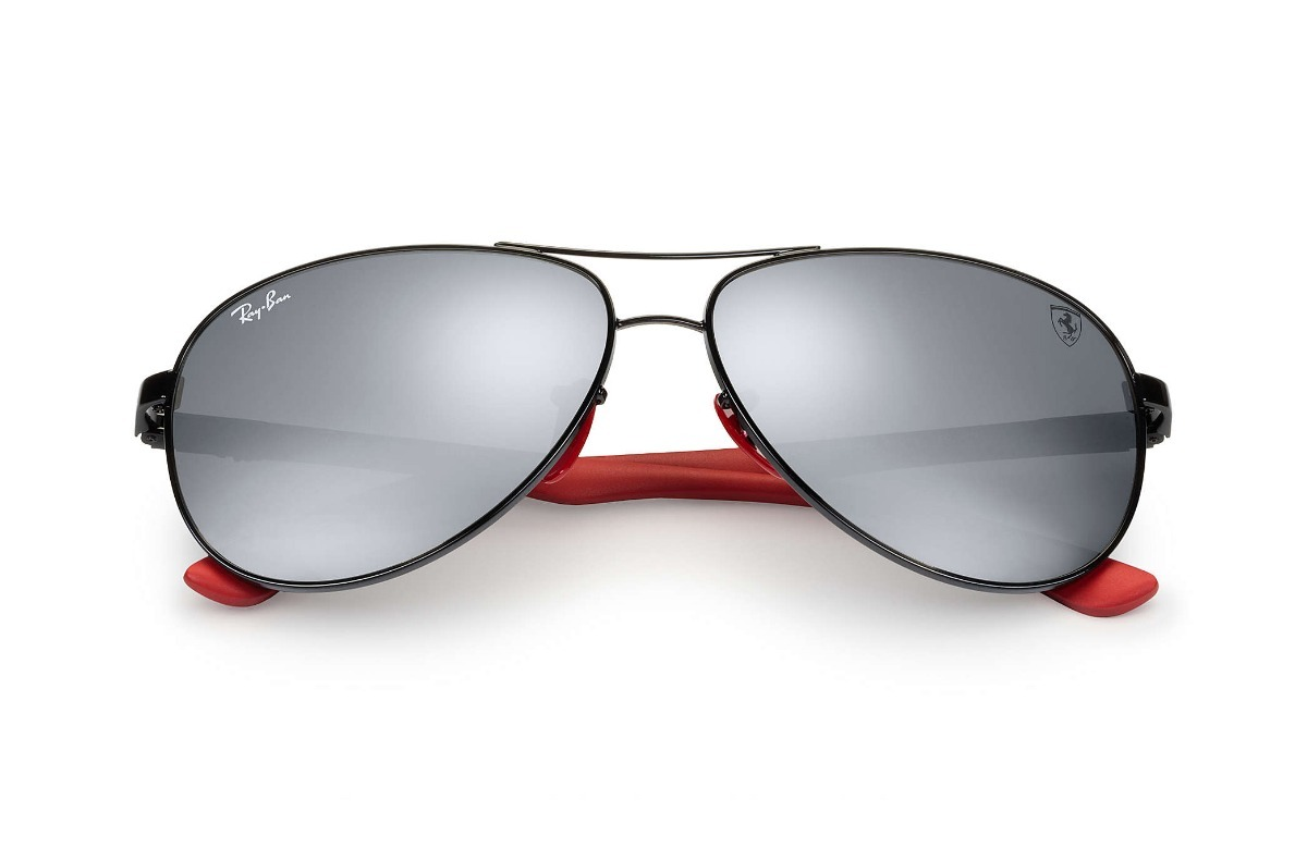 43ad02129 óculos rayban scuderia ferrari rb8313m 8313 carbono f002h2. Carregando zoom.