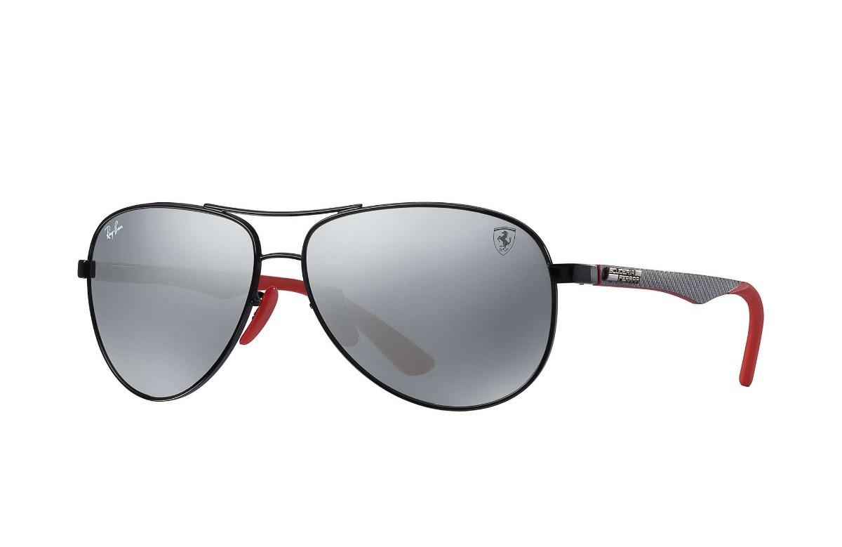 9c95af0f9 Óculos Rayban Scuderia Ferrari Rb8313m 8313 Carbono F002h2 - R$ 849 ...