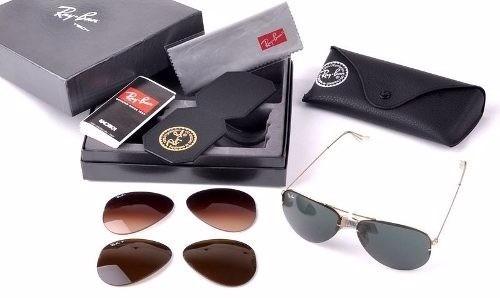 Óculos Rayban Tech Flip Out Rb3460 Troca Lentes - Original - R  399 ... 62c69aa9c9