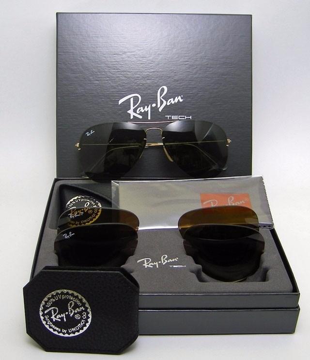 e28d0b13a Óculos Rayban Tech Flip Out Rb3460 Troca Lentes - Original - R$ 499 ...