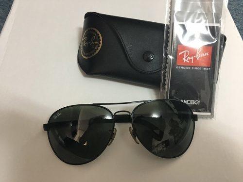 822f705b49c6e Óculos Rayban Top Aviador Original - Grande - R  309