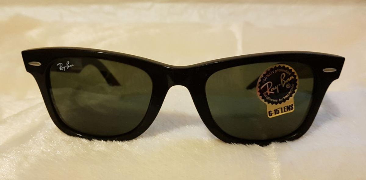 08202e9d9e5e8 óculos rayban wayafarer classico rb2140 901 preto 54  c12. Carregando zoom.