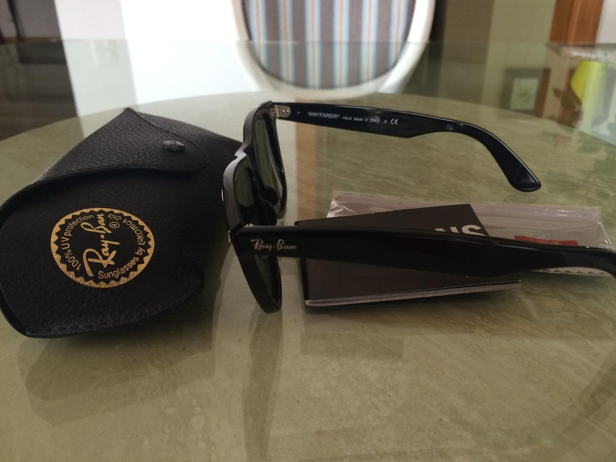36ad22225b50c Óculos Rayban Wayfarer Classic (original) - R  399,00 em Mercado Livre