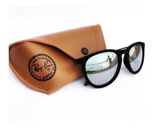 óculos rb veludo com proteção uv + brinde