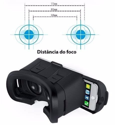 62dd2b2e0 óculos realidade virtual 3d controle iphone 5s 6s 7 e 8 plus. Carregando  zoom... óculos realidade virtual
