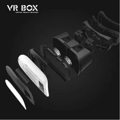 oculos realidade virtual cardboard 3d rift vr box