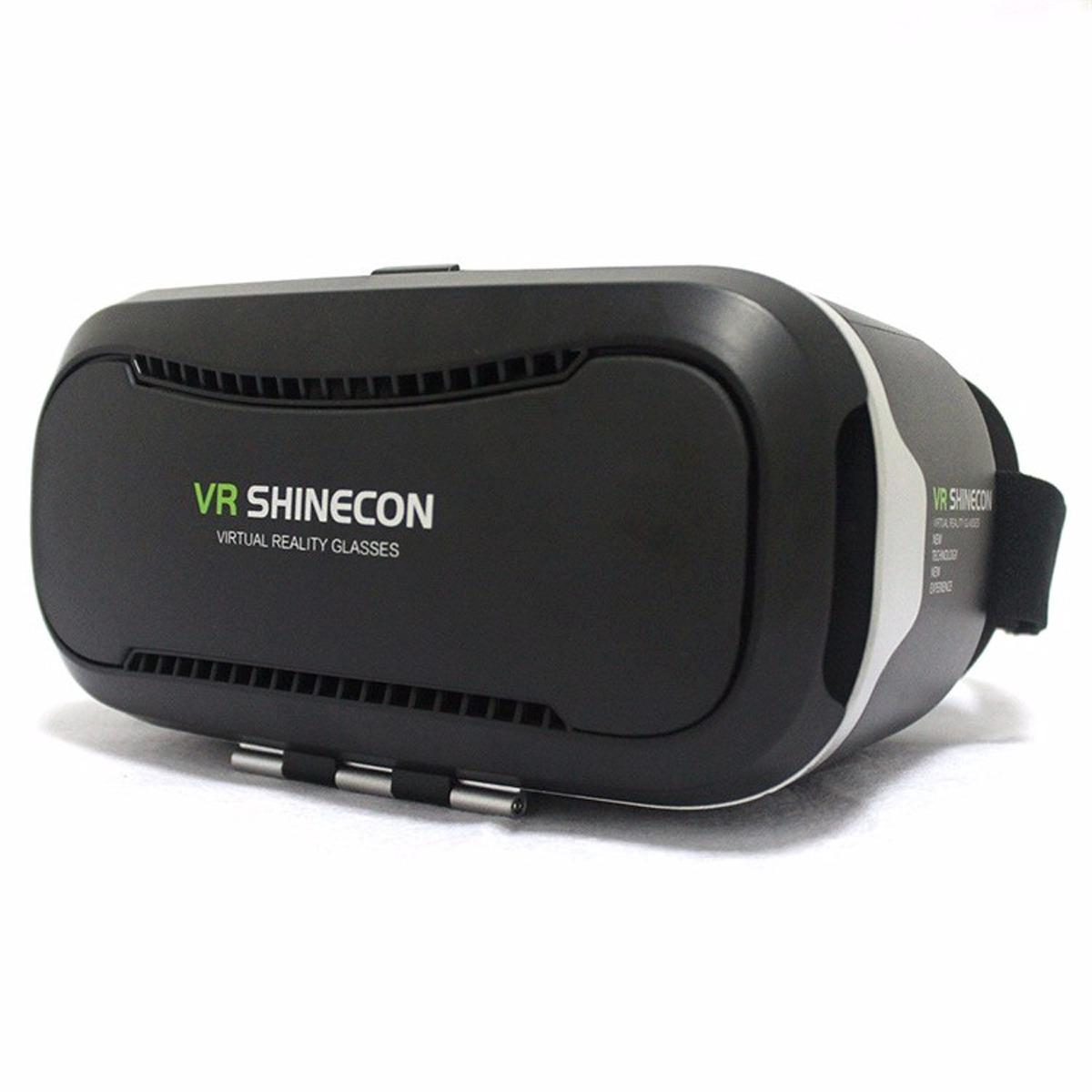 cb50b5effa01a óculos realidade virtual shinecon 2.0 3d vr - preto. Carregando zoom.