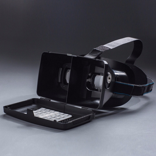 óculos realidade virtual ultra 3d ritech ii google cardboard