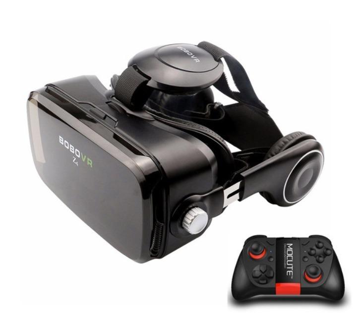 580be8203 Óculos Realidade Virtual Ultron Bobo Vr Z4 + Joystick Game - R$ 389,90 em  Mercado Livre