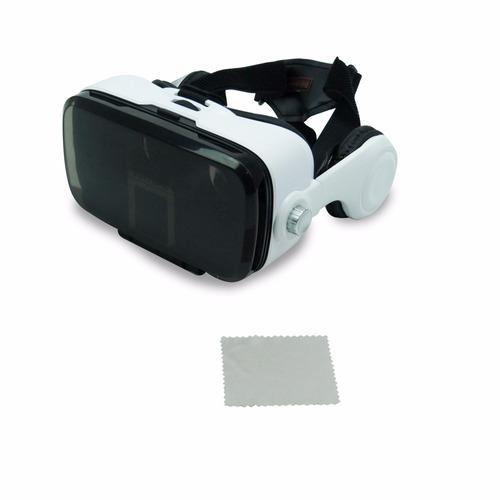óculos realidade virtual vr 5+ c/ headphone jogo vídeo filme