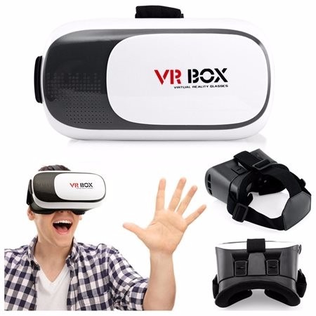 7ae1ad770 Óculos Realidade Virtual Vr Box 2.0 + Controle + Fone - R$ 65,00 em ...