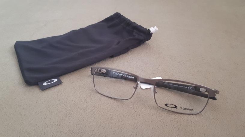 óculos receita grau armação oakley tincup carbon ox5094-0452. Carregando  zoom. 69fa65d595