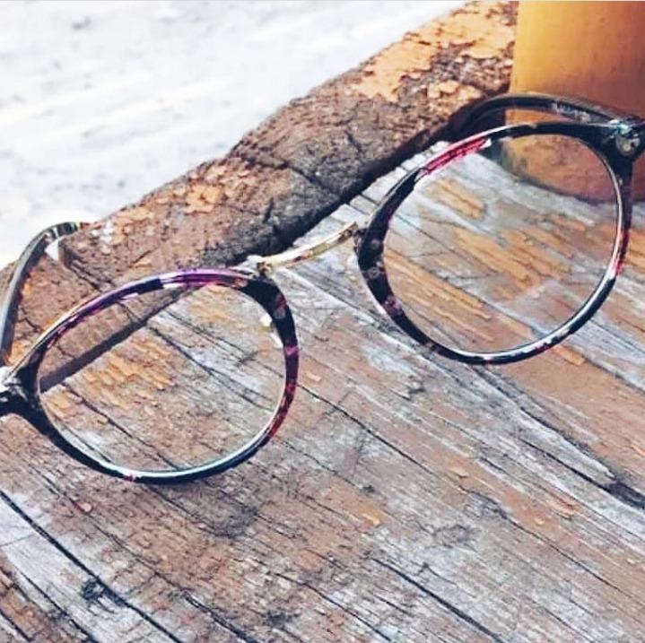 Oculos Receituário Armação Para Grau Estampado Retro Fashion - R  49,90 em  Mercado Livre ab277e5624