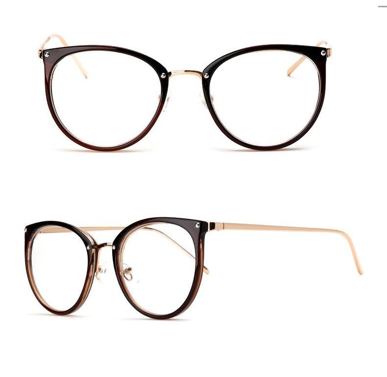 ec76dfc7b Óculos Receituário Feminino Armação Resistente Gato Barato - R$ 79 ...