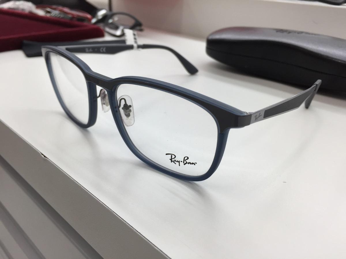 f9b94c191 oculos receituario p/ grau ray ban rb 7163 5679 55 original. Carregando zoom .