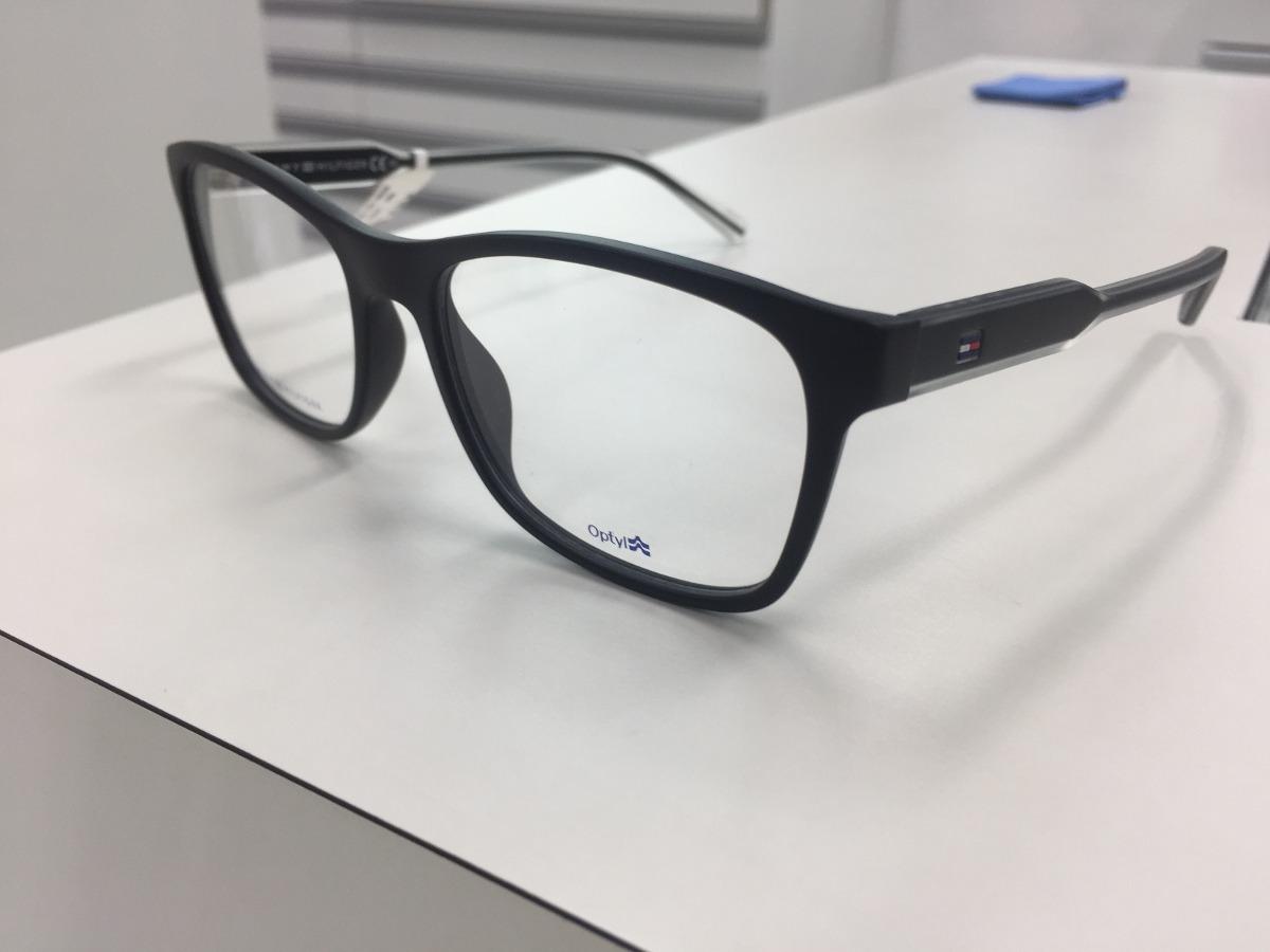 9149ece7c73f3 oculos receituario p  grau tommy hilfiger th 1444 e17 145. Carregando zoom.