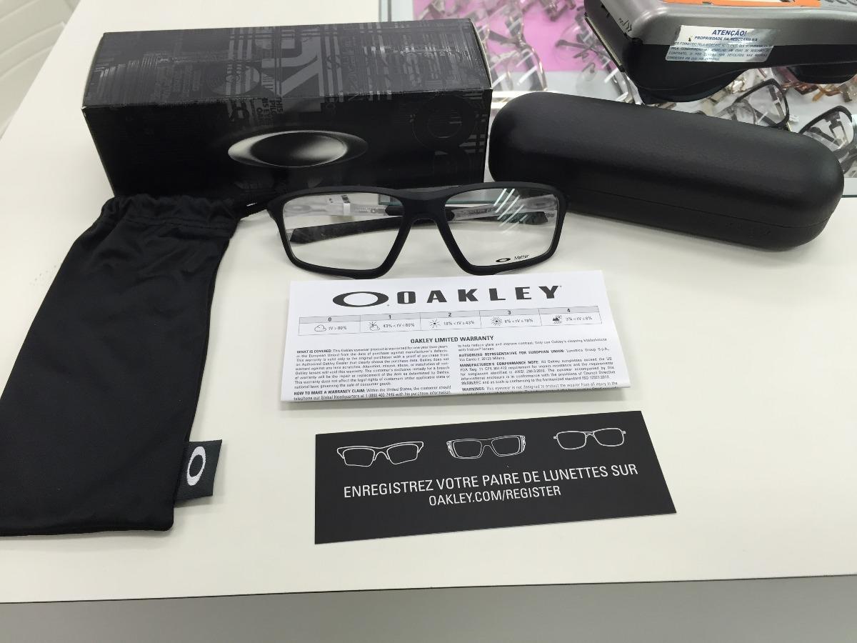 oculos receituario p grau oakley crosslink zero ox8076-0358. Carregando  zoom. 1769e6be77