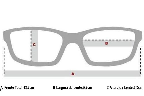 Oculos Receituario P grau Oakley Splinter Ox8077-0552 Santin - R ... c620b74bb7