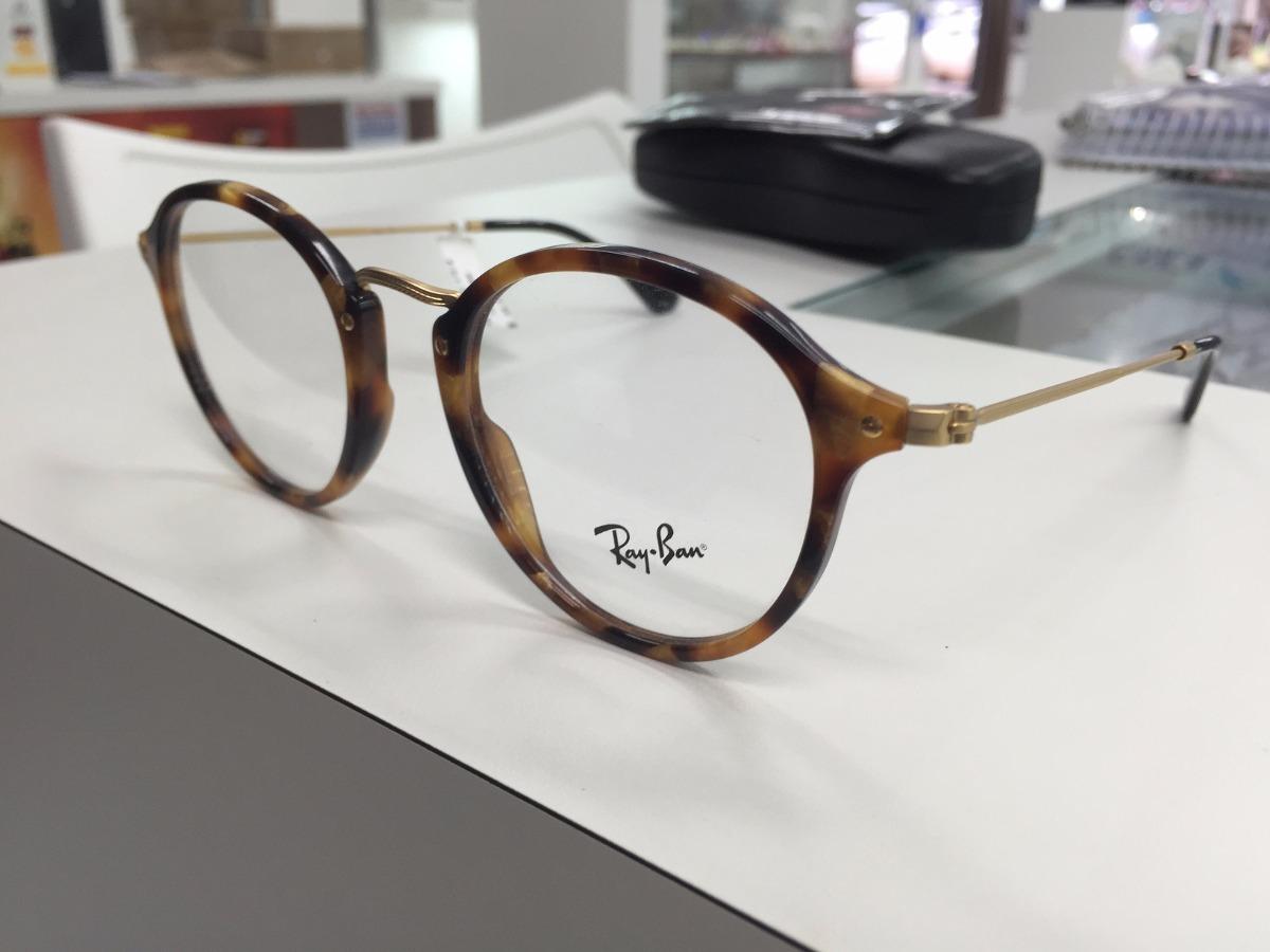 cba1bcfb9f7af oculos receituario p grau ray ban rb 2447-v 5494 49 original. Carregando