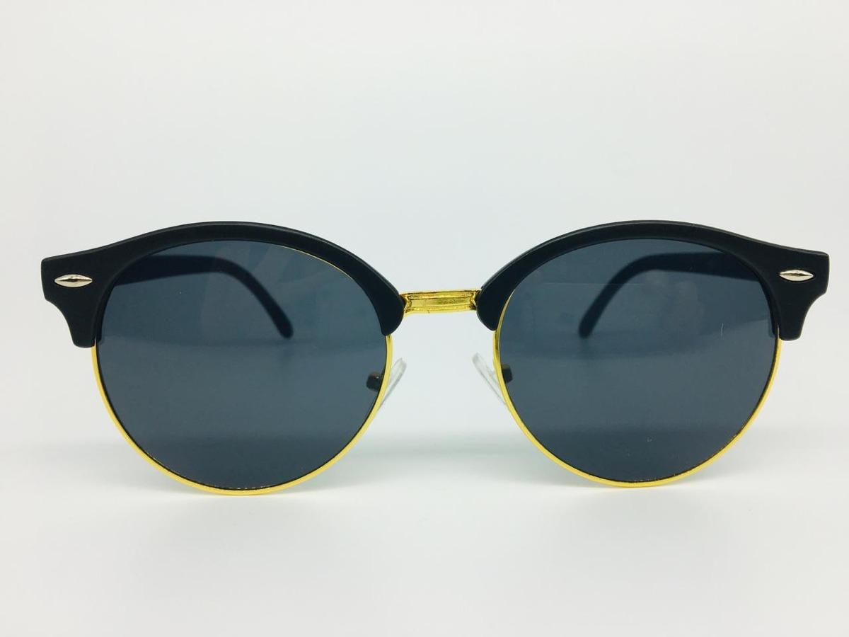 26c42add73bf1 Óculos Redondo Escuros Proteção Uv400 Acetato Aço C  Estojo - R  37,50 em  Mercado Livre