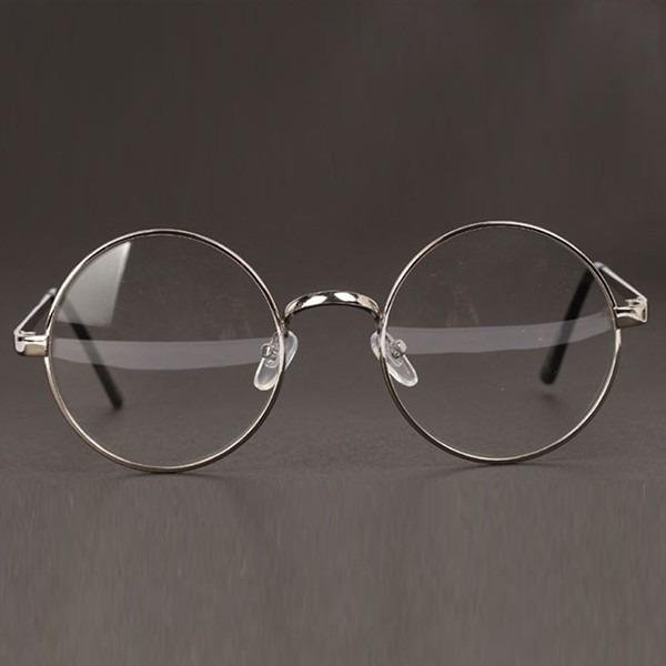 31c545b62796e Óculos Redondo Grau Armação Grande Retro Vintage - R  40