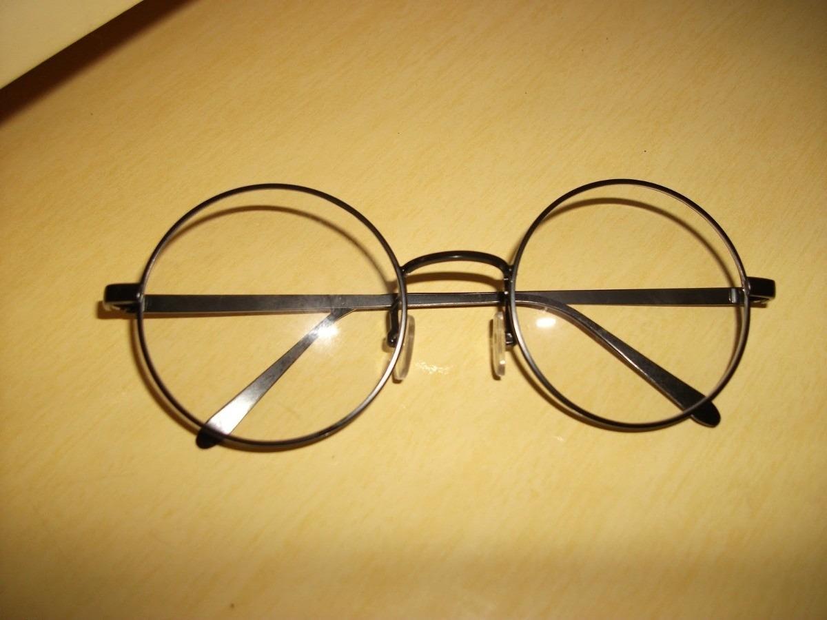 f1ec5d3bb86dd Óculos Redondo Grau Armação Grande Retro Vintage - R  40,21 em ...