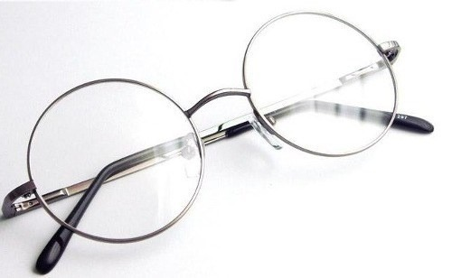 c7bf7b946 Óculos Redondo Harry Potter, Ozzy, Jonh Lennom Armação Prata - R$ 99 ...