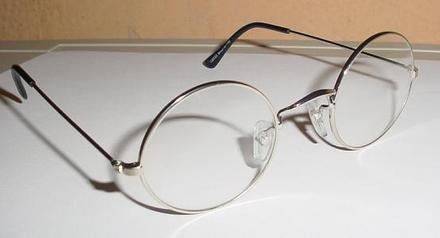 Óculos Redondo Jonh Lennom Com Lentes Incolores Sem Grau - R  119,99 ... c5e0d2f087