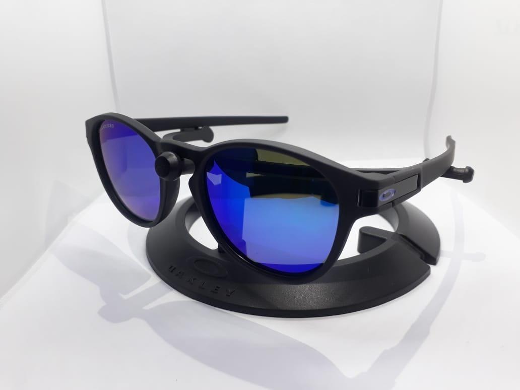 6696784a16e6f óculos redondo latch azul espelhado. Carregando zoom.